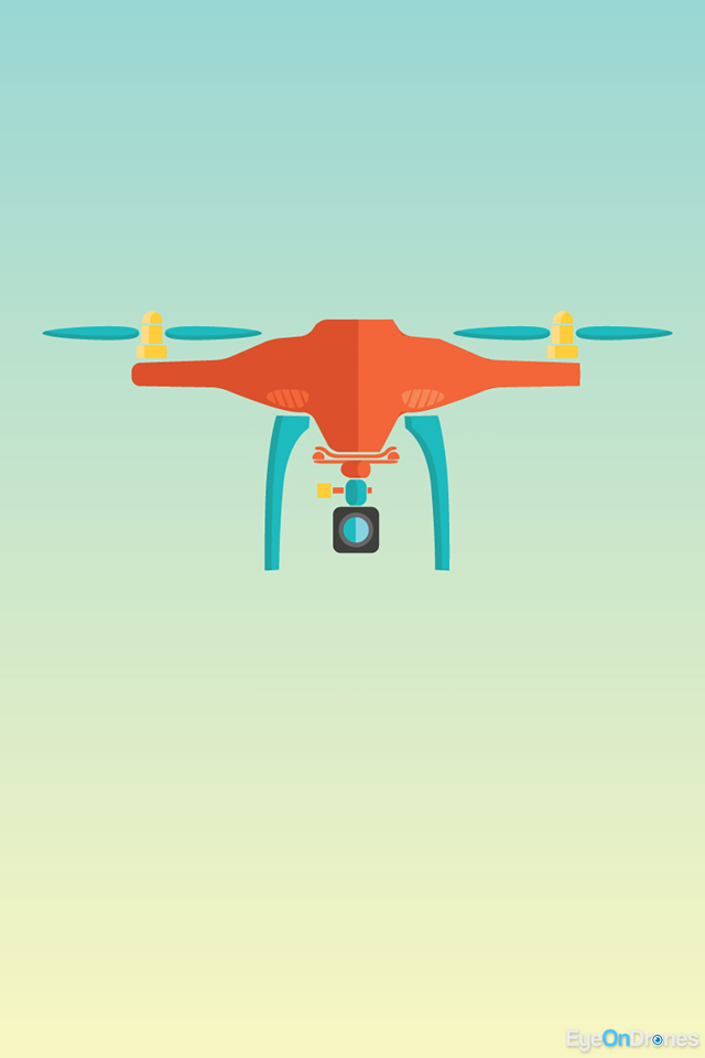 Drone Minimal Wallpaper