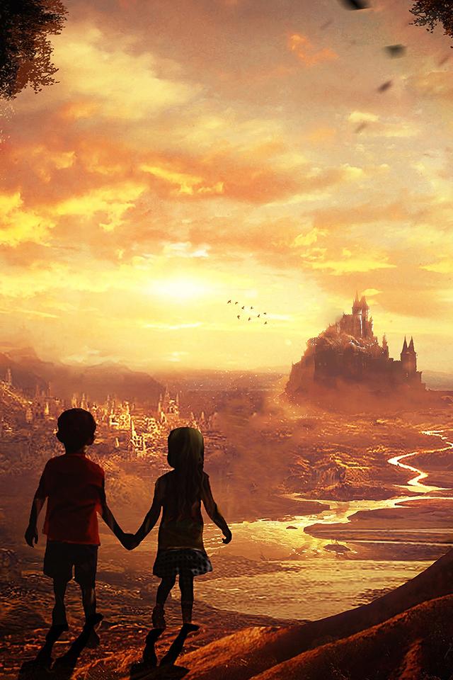 Fairytale Kids Wallpaper