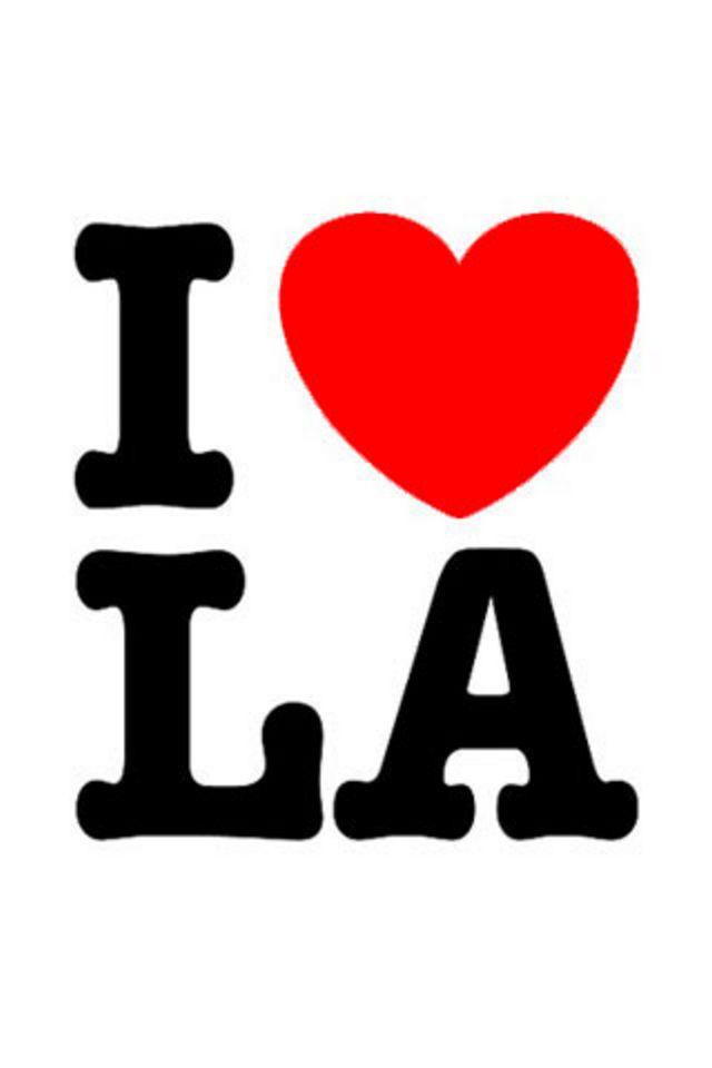 I Love LA Wallpaper