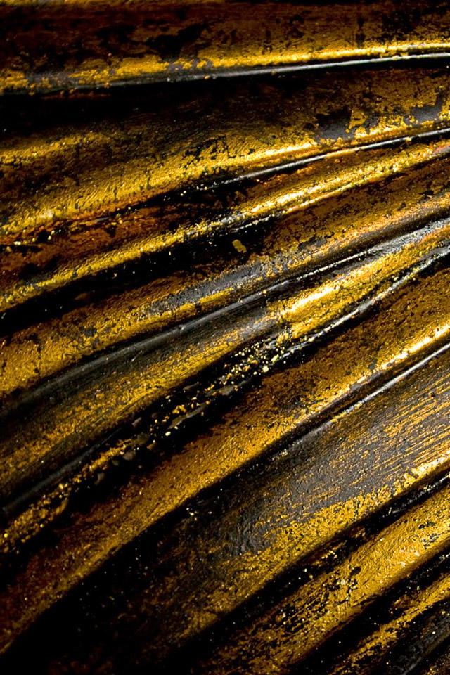 Yellow Metal Wallpaper