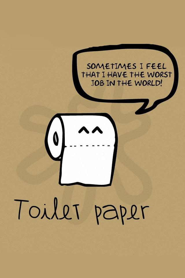 Toilet Paper Wallpaper