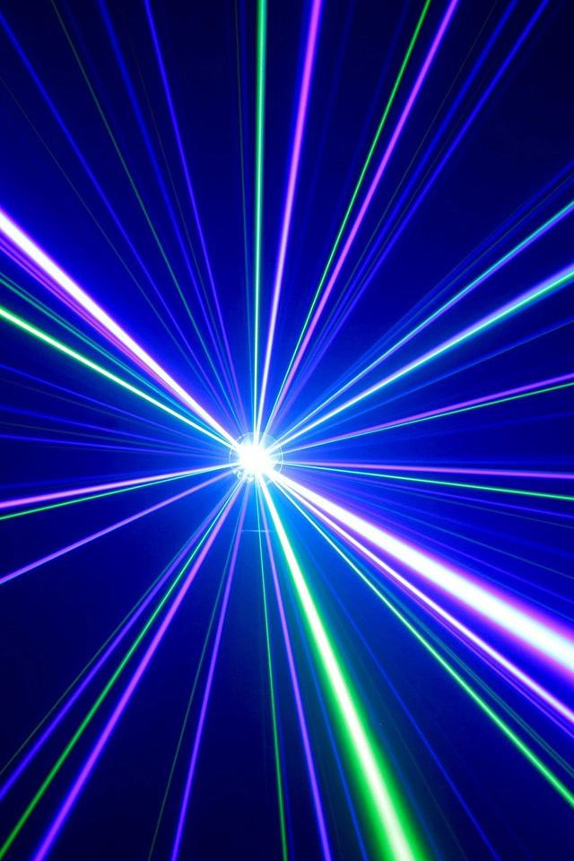Laser Wallpaper
