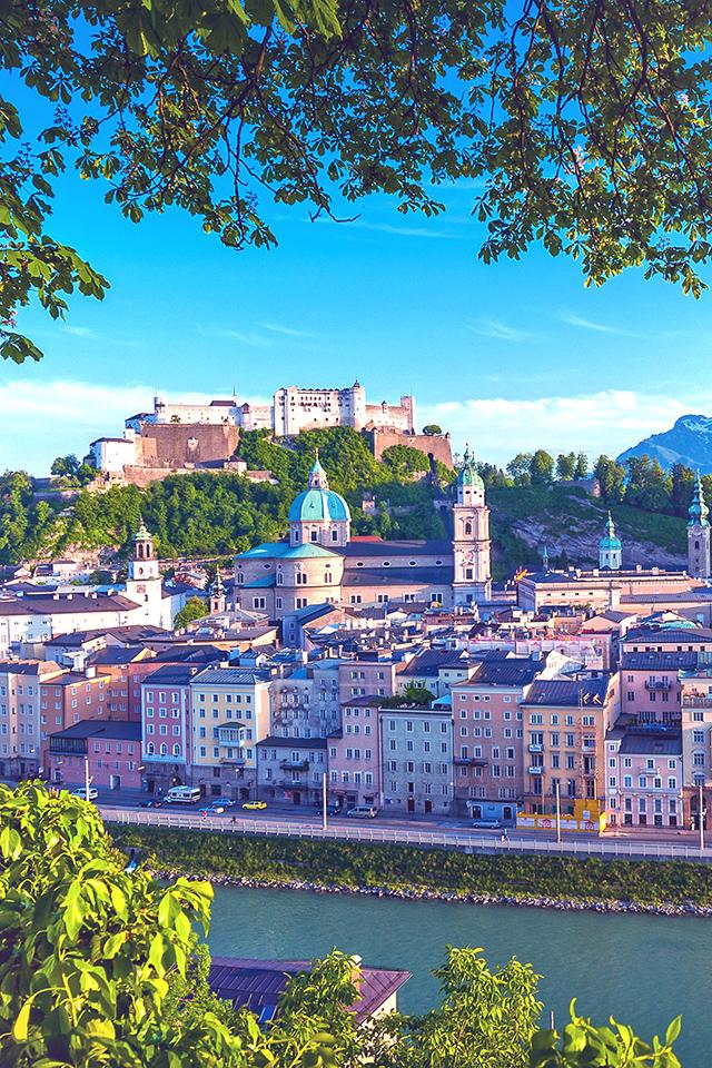 Austria Altstadt Salzburg Wallpaper