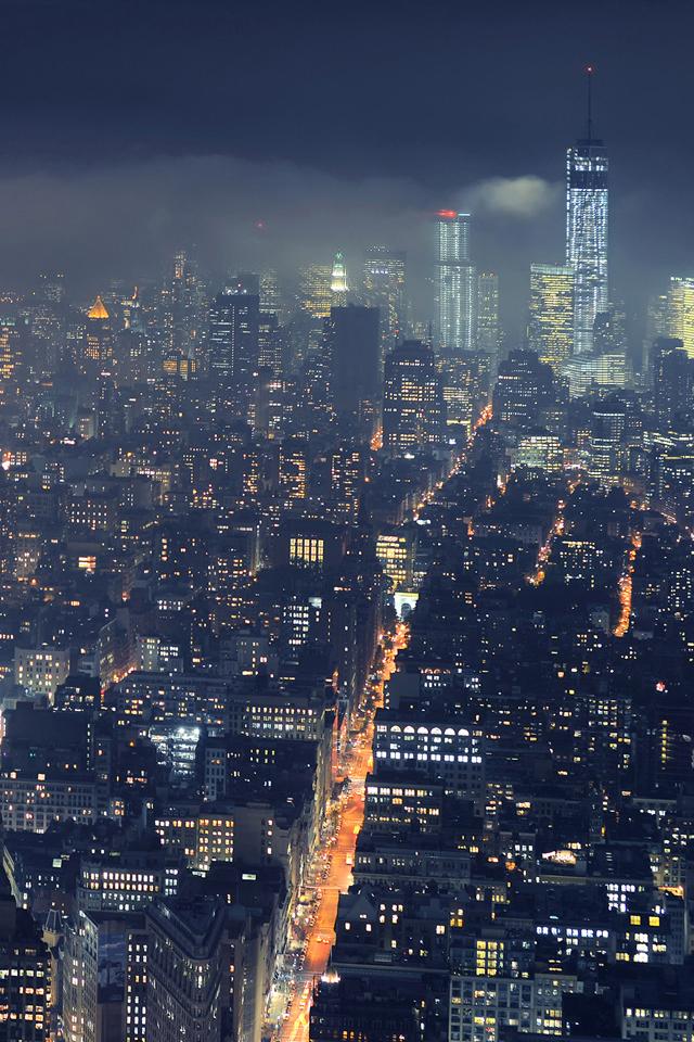 Metropolis Night Wallpaper