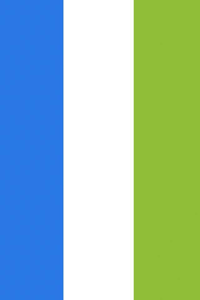 Sierra Leone Flag Wallpaper