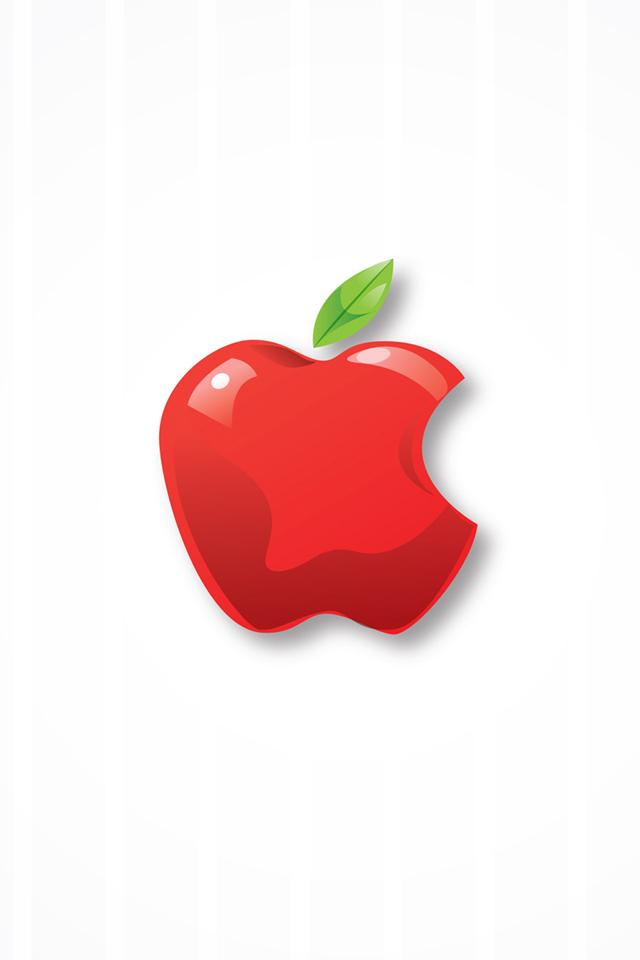 White Mac Apple Wallpaper
