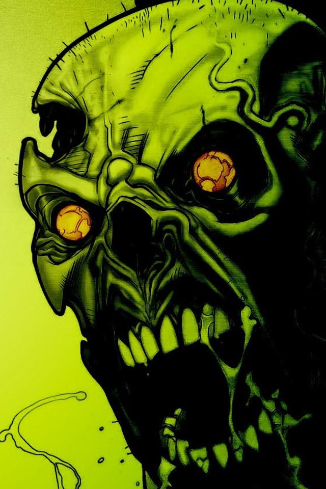 Zombie Art Wallpaper