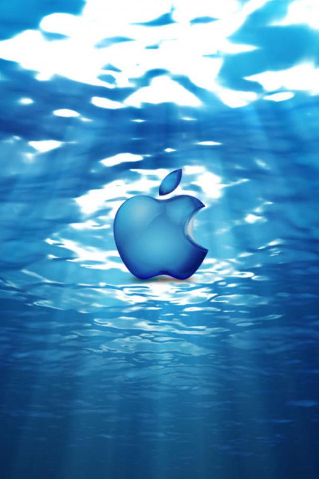 Apple Underwater Wallpaper