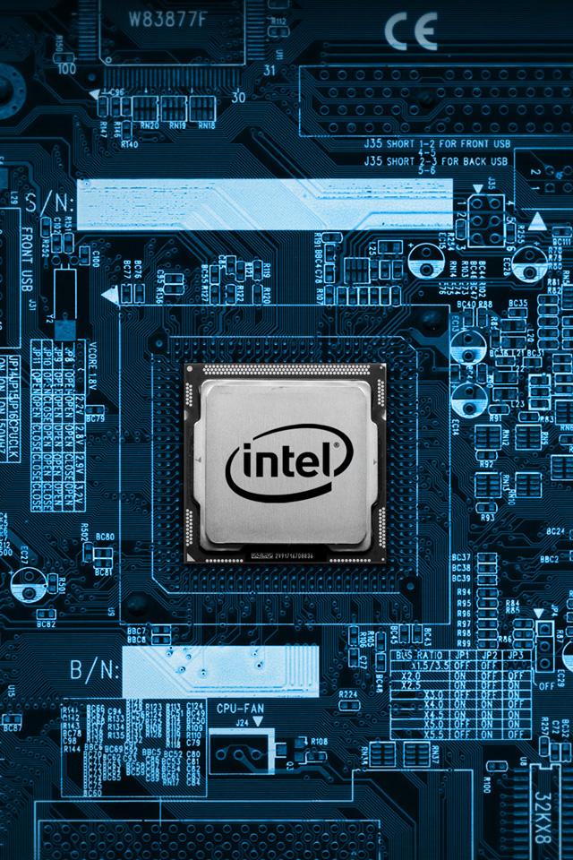 Intel Chip Wallpaper