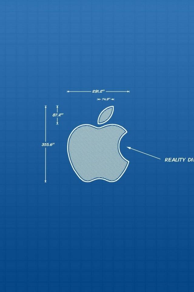 Apple Blueprint Wallpaper