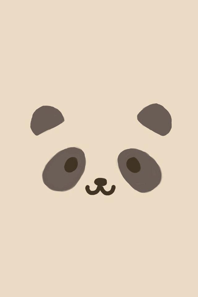Panda Face Wallpaper