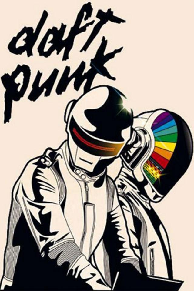 Daft Punk iPhone Wallpaper HD