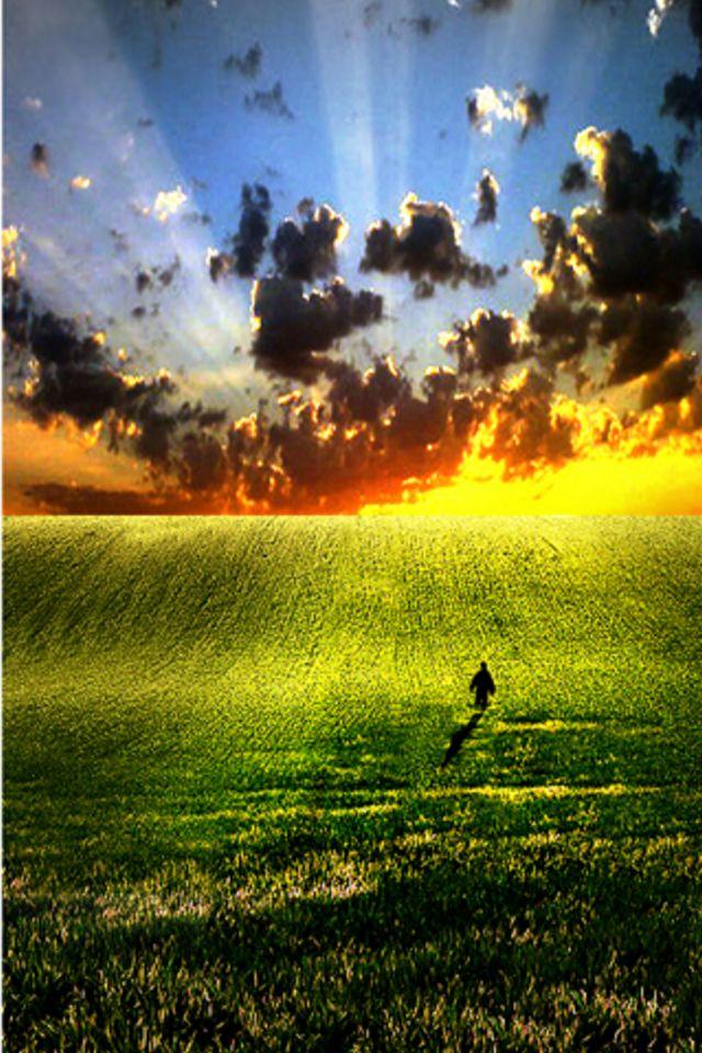 Sunrise Destination Wallpaper