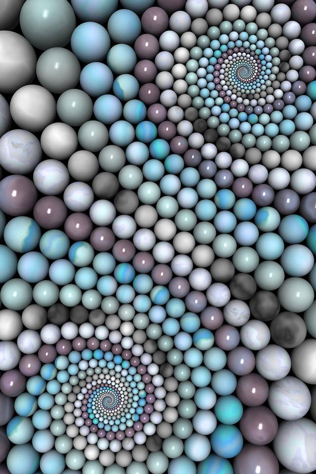 Marble Balls Wallpaper