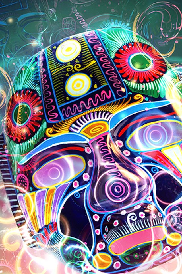 Tribal Mask Wallpaper