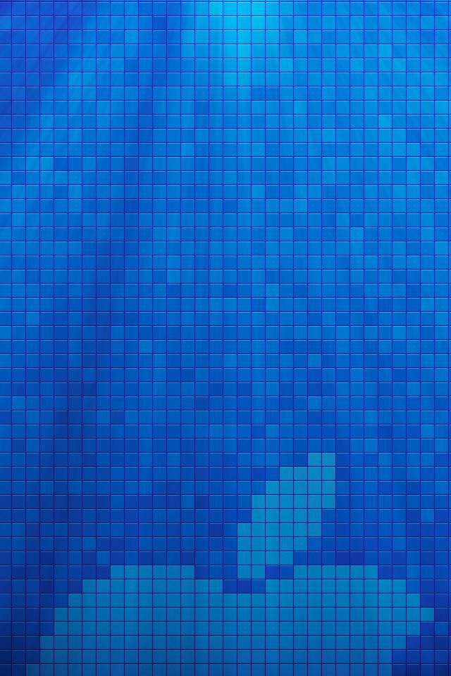 Pixel Apple Wallpaper