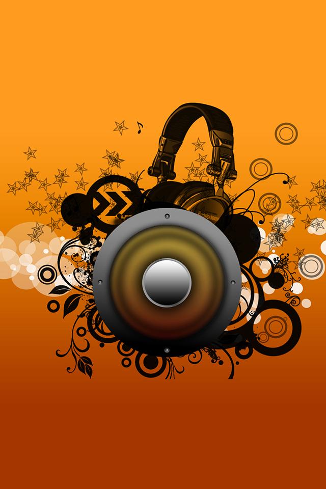 Music Speaker Wallpaper