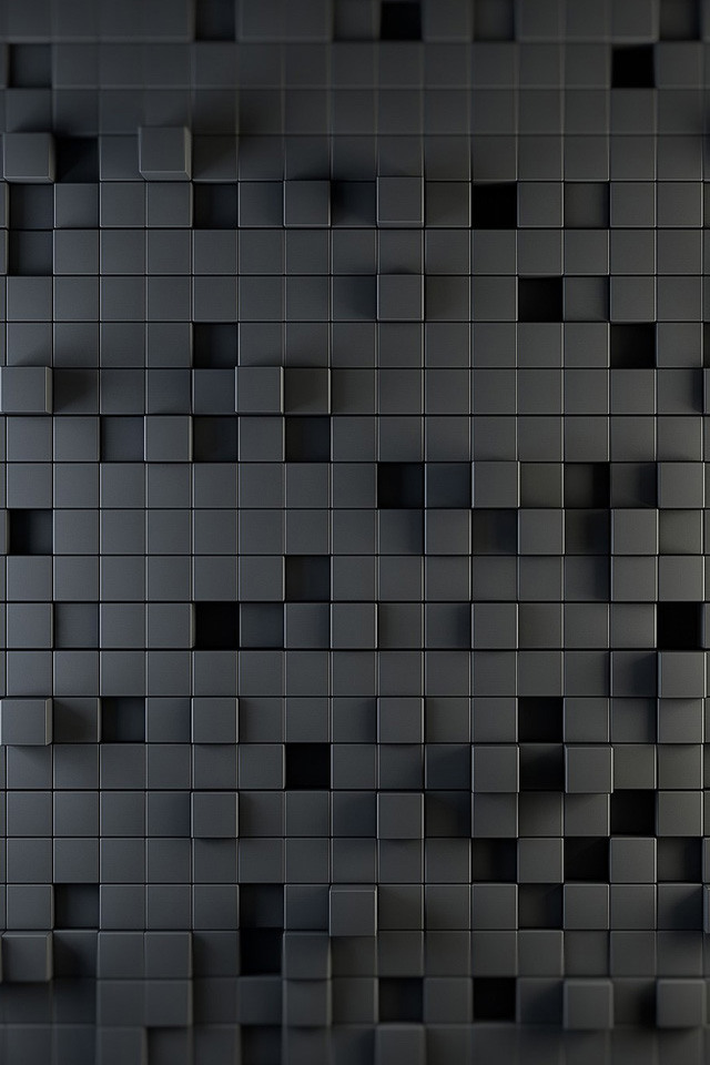 Gray Squares Wallpaper
