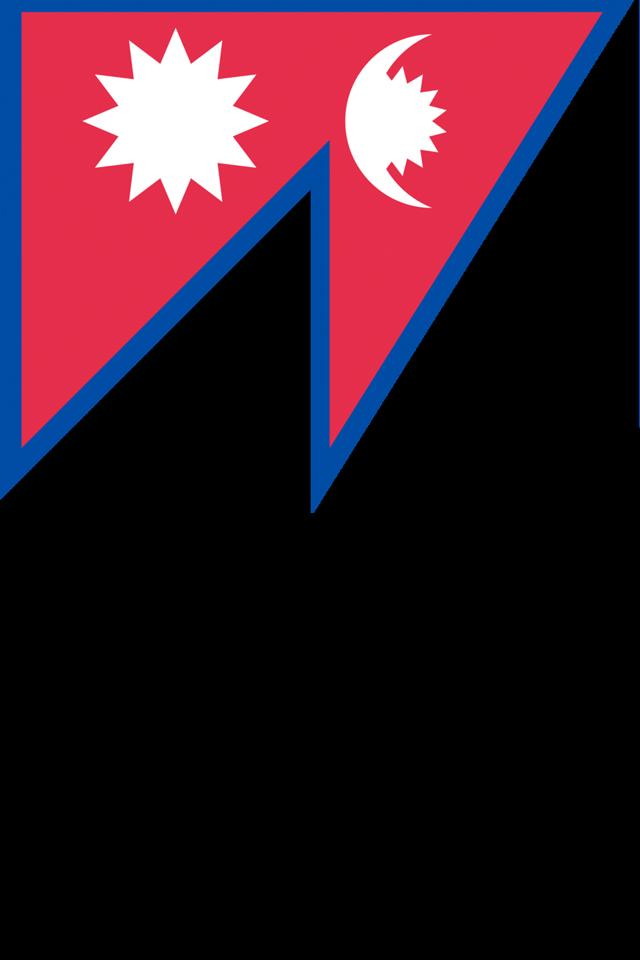 Nepal Flag Wallpaper