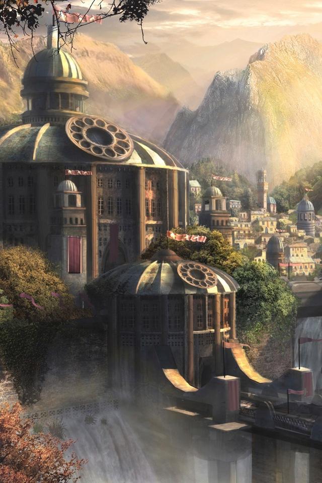Fantasy Land Wallpaper