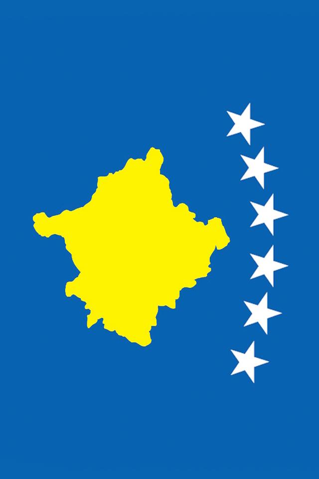 Kosovo Flag Wallpaper