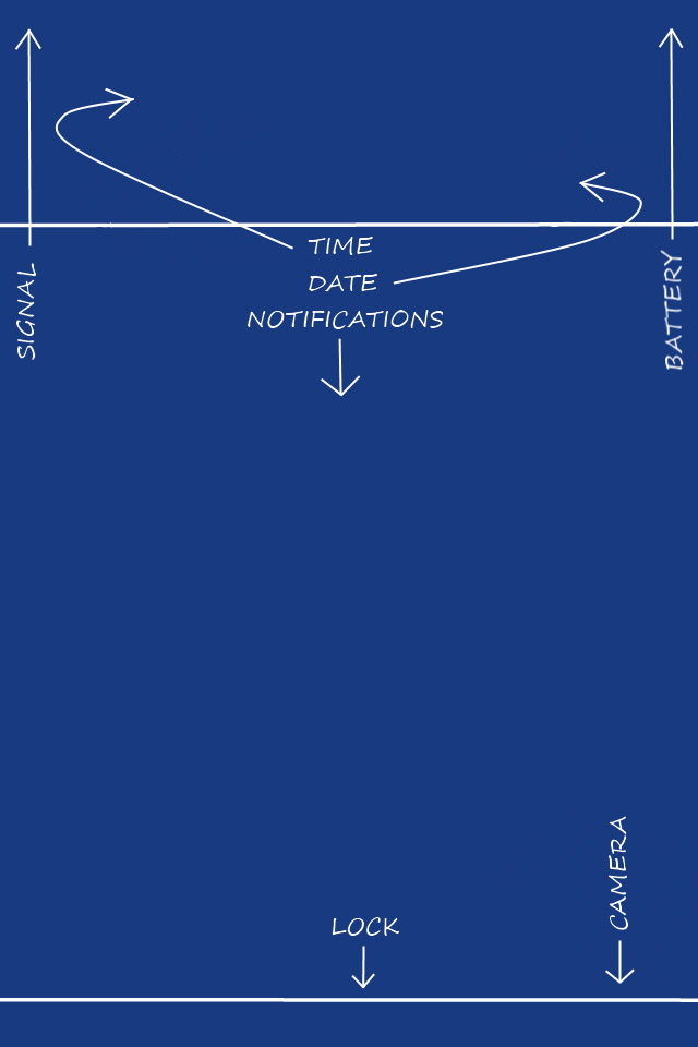 Lock Diagram Wallpaper