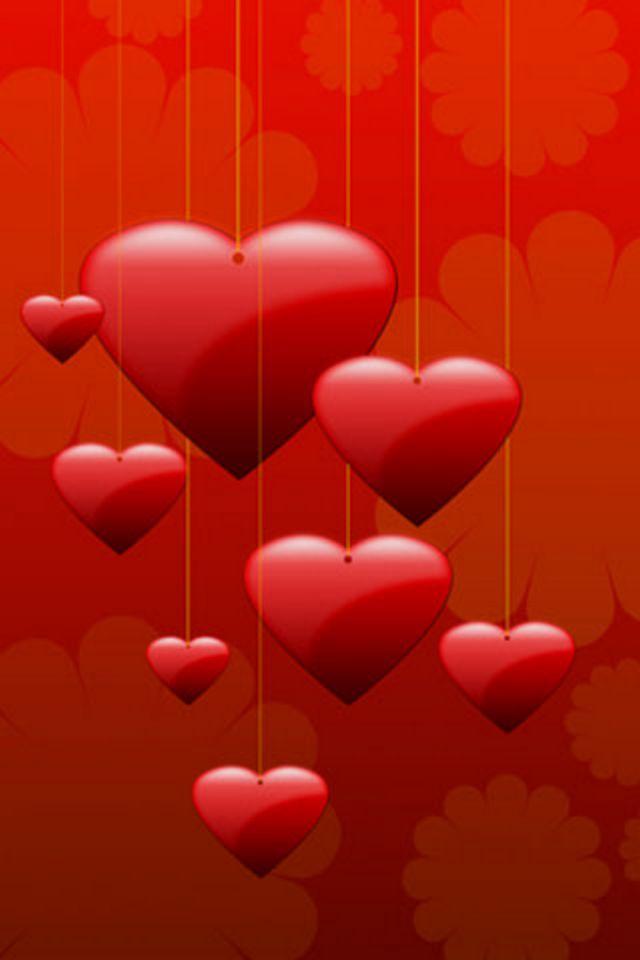 Hearts iphone wallpaper hd - Heart to heart wallpaper ...