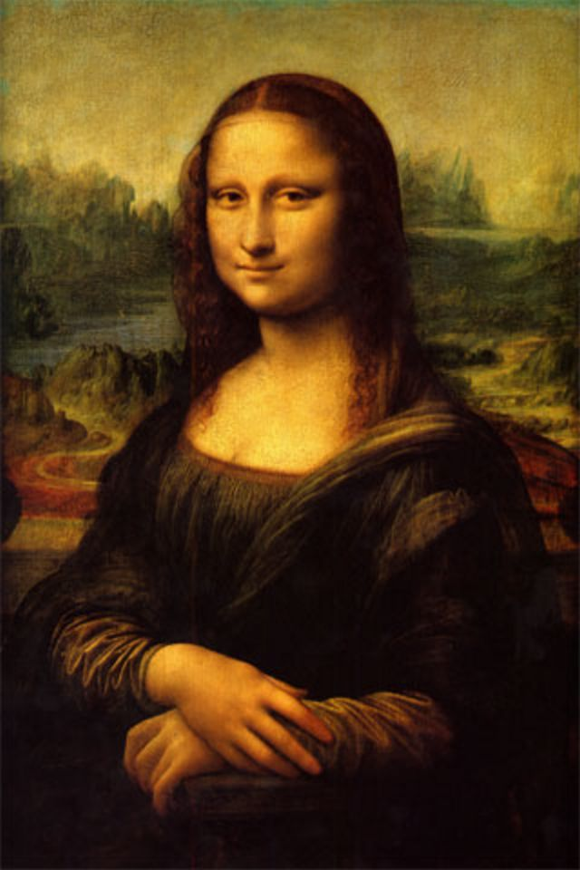 paintings mona wallpaper 1280x980 - photo #7