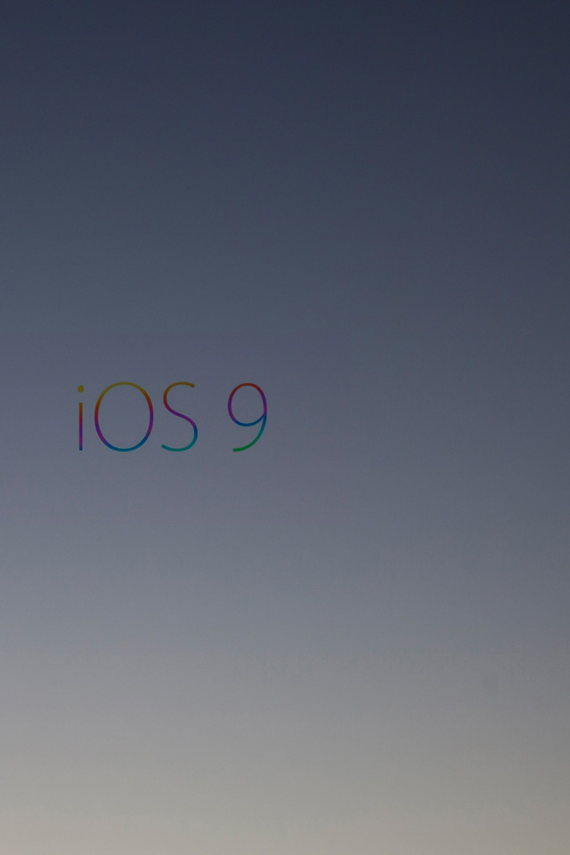 iOS9 Gradient Wallpaper