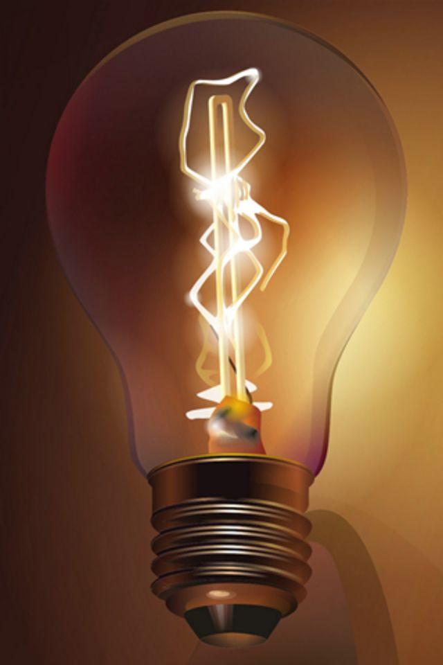 Light Bulb Wallpaper