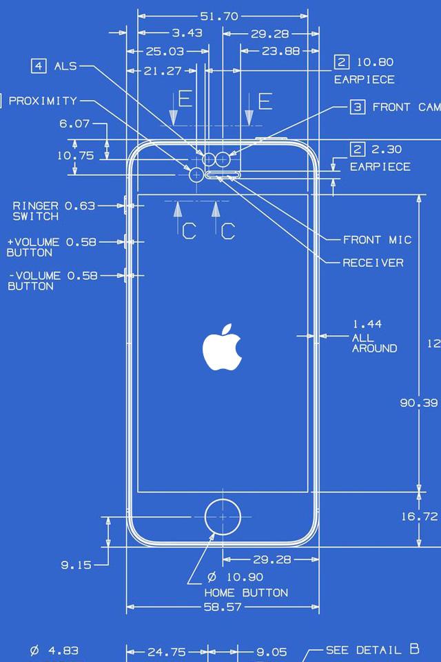 iPhone Diagram Wallpaper