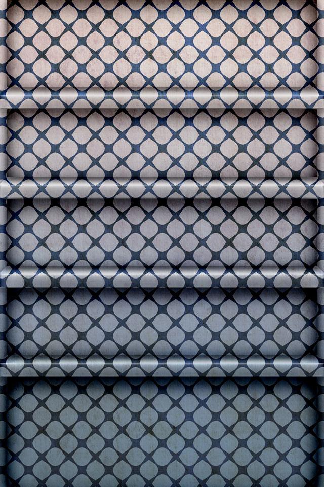 Pattern Shelf Wallpaper