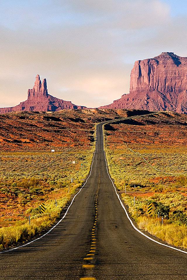 Desert Highway Wallpaper