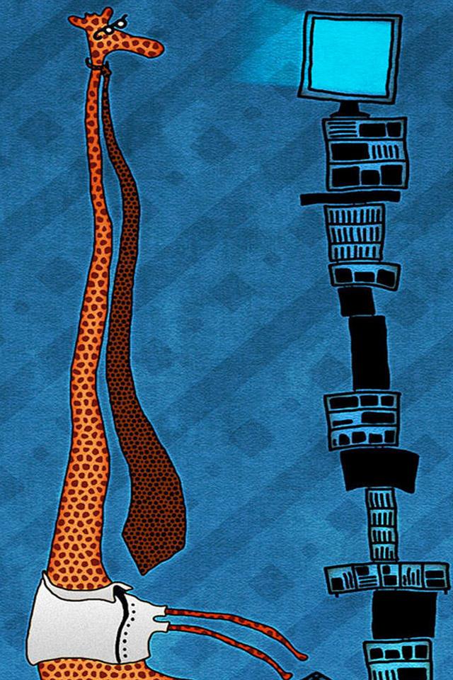 Giraffe Computer Wallpaper