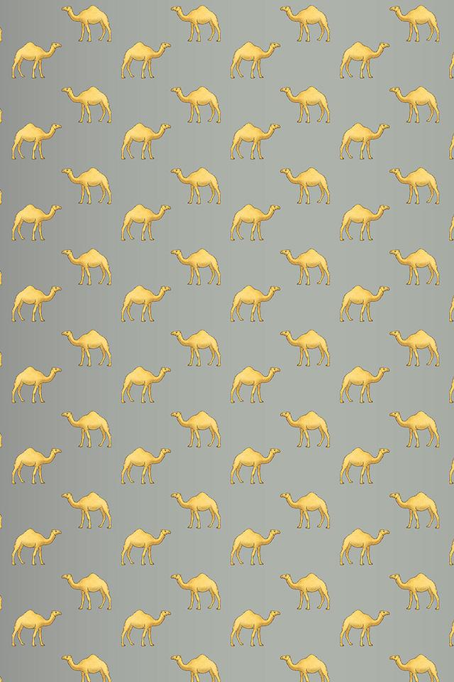 Camel Pattern Wallpaper