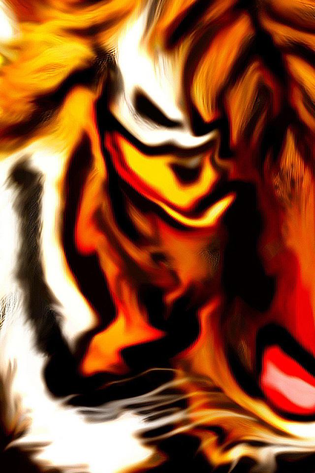 Tiger Abstract Wallpaper