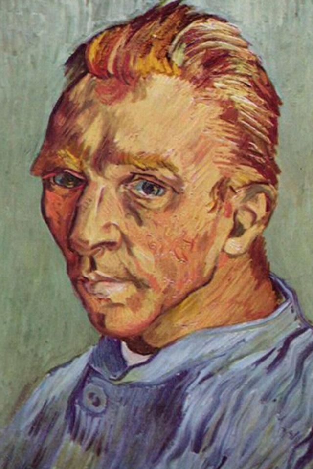 Portrait del Artiste sans Barbe Wallpaper