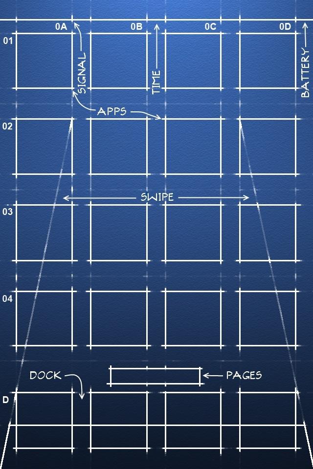 Diagram Shelf Wallpaper
