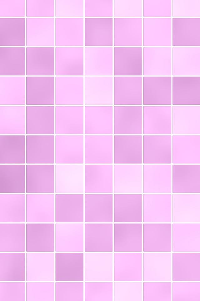 Pink Squares Wallpaper