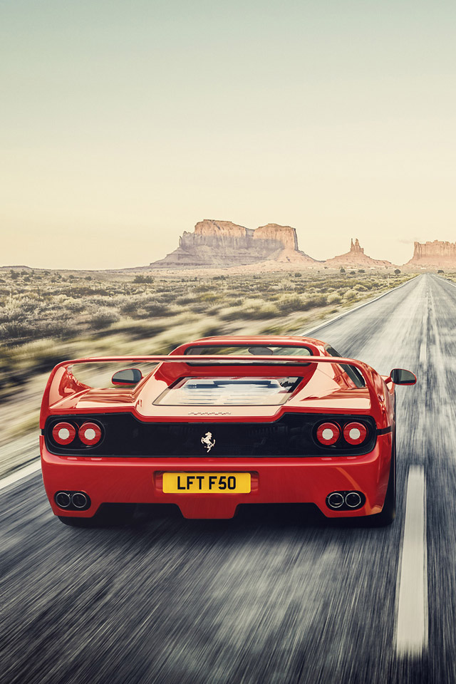 Ferrari F50 Wallpaper
