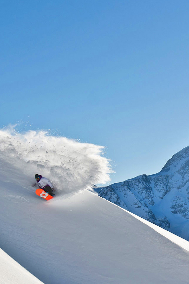 Snowboarding Iphone Wallpaper Hd