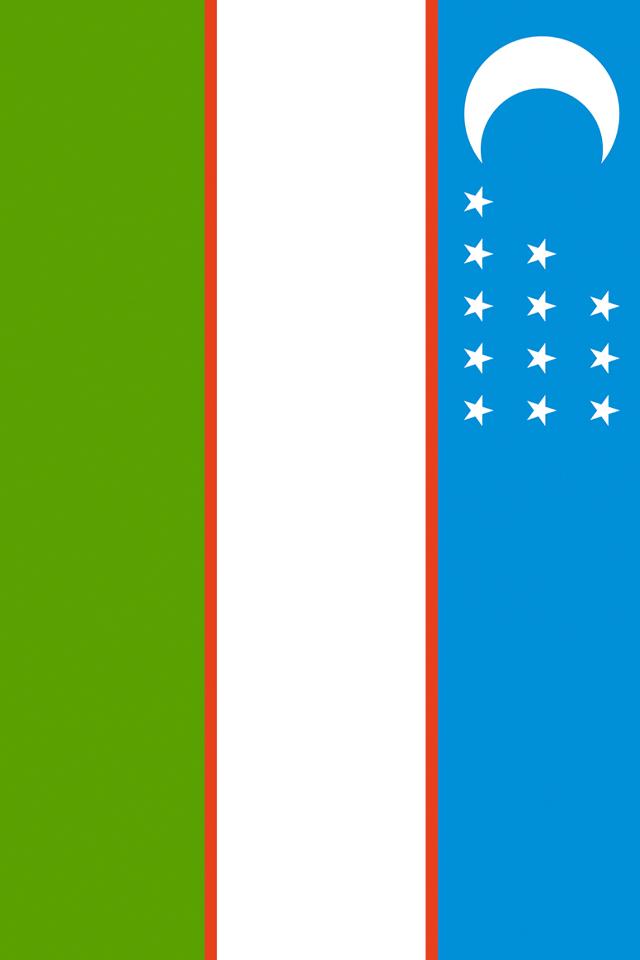 Uzbekistan Flag Wallpaper