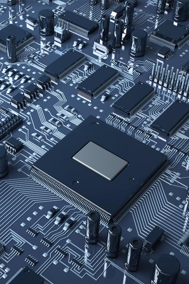 Computer Chip Wallpaper