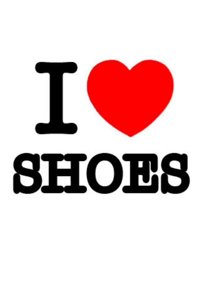 I Love Shoes Wallpaper