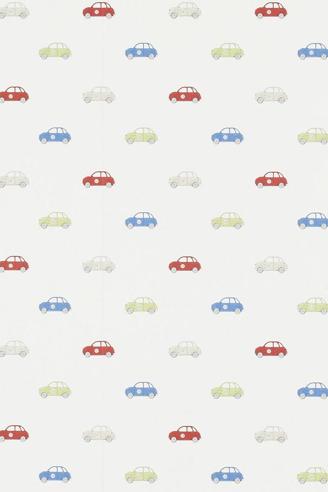 Cars Pattern Wallpaper