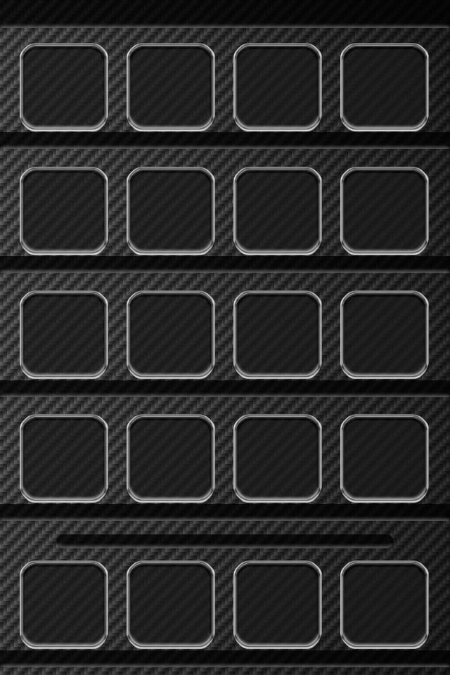 Carbon Fiber Shelf Wallpaper