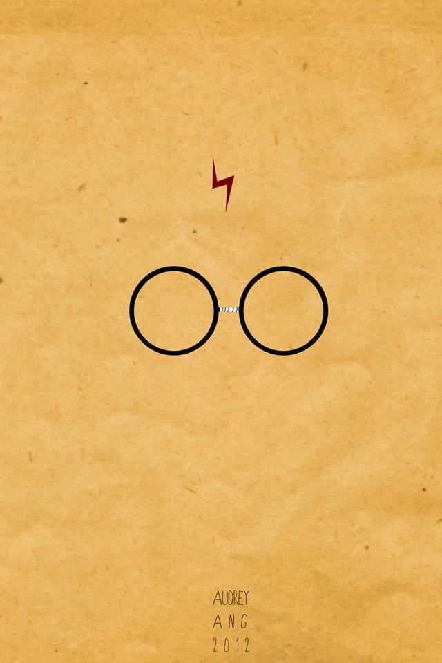 Harry Potter Glass Wallpaper