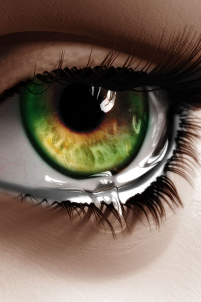 Eye Tears Wallpaper