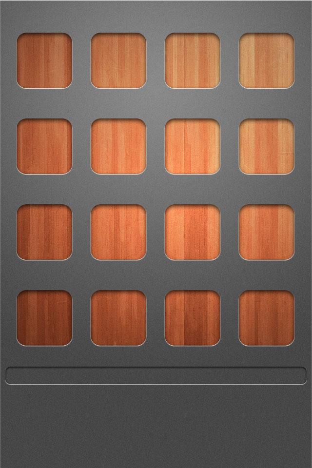 Square Shelf Wallpaper