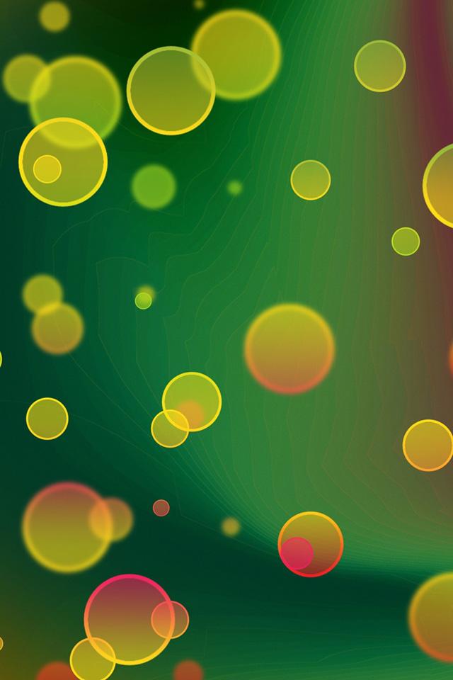 Bubbles Bokeh Wallpaper
